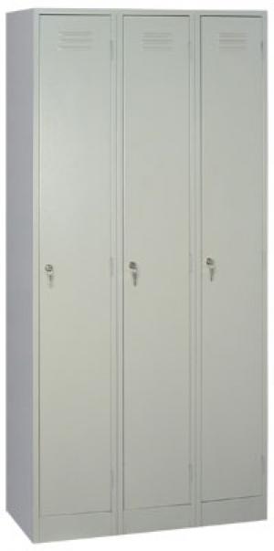Шкаф металлический для одежды ШРМ - 33 купить на выгодных условиях в Калуге