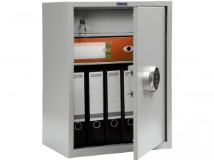 Шкаф металлический бухгалтерский ПРАКТИК SL-65Т EL купить на выгодных условиях в Калуге
