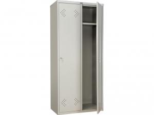 Шкаф металлический для одежды ПРАКТИК LS(LE)-21-80 купить на выгодных условиях в Калуге