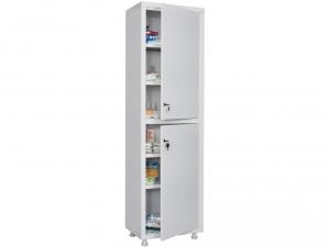 Металлический шкаф медицинский HILFE MD 1 1657/SS купить на выгодных условиях в Калуге