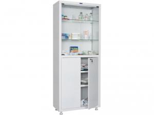 Металлический шкаф медицинский HILFE MD 2 1670/SG купить на выгодных условиях в Калуге