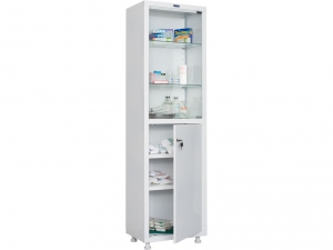 Металлический шкаф медицинский HILFE MD 1 1657/SG купить на выгодных условиях в Калуге