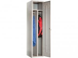 Шкаф металлический для одежды ПРАКТИК LS(LE)-11-40D купить на выгодных условиях в Калуге
