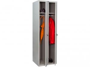 Шкаф металлический для одежды ПРАКТИК LS(LE)-21 купить на выгодных условиях в Калуге