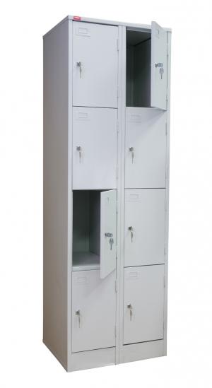 Шкаф металлический для сумок ШРМ - 28 купить на выгодных условиях в Калуге