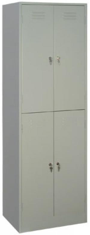 Шкаф металлический для одежды ШРМ - 24 купить на выгодных условиях в Калуге