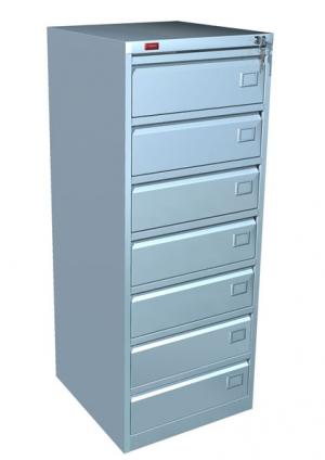 Шкаф металлический картотечный КР - 7 купить на выгодных условиях в Калуге