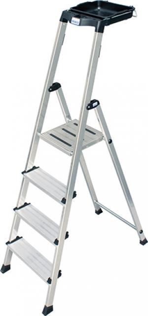 Лестница стремянка Secury 4 ступени купить на выгодных условиях в Калуге
