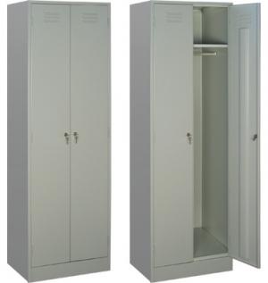 Шкаф металлический для одежды ШРМ - 22 купить на выгодных условиях в Калуге