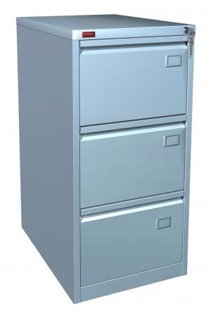 Шкаф металлический картотечный КР - 3 купить на выгодных условиях в Калуге