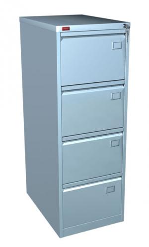 Шкаф металлический картотечный КР - 4 купить на выгодных условиях в Калуге