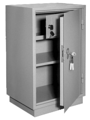 Шкаф металлический для хранения документов КБ - 012т / КБС - 012т купить на выгодных условиях в Калуге