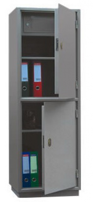 Шкаф металлический для хранения документов КБ - 032т / КБС - 032т купить на выгодных условиях в Калуге