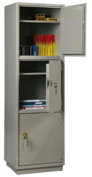 Шкаф металлический для хранения документов КБ - 033 / КБС - 033 купить на выгодных условиях в Калуге