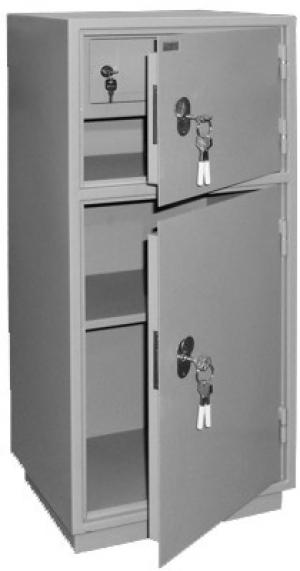 Шкаф металлический бухгалтерский КБ - 042т / КБС - 042т купить на выгодных условиях в Калуге