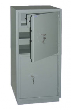 Шкаф металлический бухгалтерский КС-2Т купить на выгодных условиях в Калуге