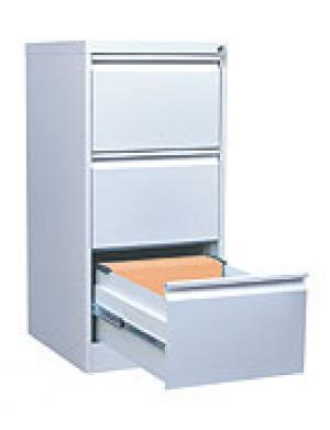 Шкаф металлический картотечный ШК-3 (3 замка) купить на выгодных условиях в Калуге
