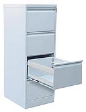 Шкаф металлический картотечный ШК-4 (4 замка) купить на выгодных условиях в Калуге