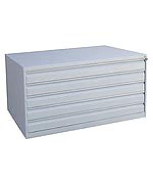 Шкаф металлический картотечный ШК-5-А0 купить на выгодных условиях в Калуге