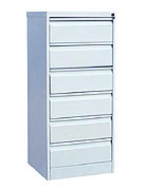 Шкаф металлический картотечный ШК-6(A5) 6 замков купить на выгодных условиях в Калуге