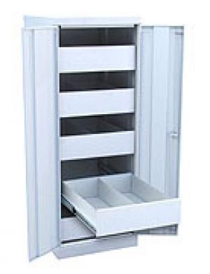 Шкаф металлический картотечный ШК-5-Д2 купить на выгодных условиях в Калуге