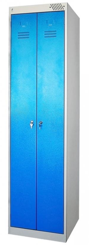 Шкаф металлический для одежды ШРЭК-22-500 купить на выгодных условиях в Калуге
