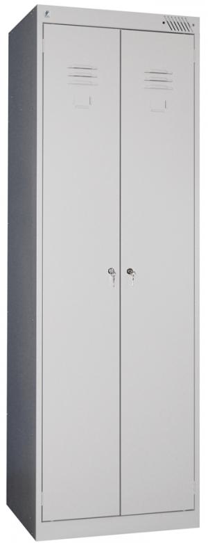 Шкаф металлический для одежды ШРК-22-800 купить на выгодных условиях в Калуге