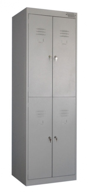 Шкаф металлический для одежды ШРK-24-800 купить на выгодных условиях в Калуге