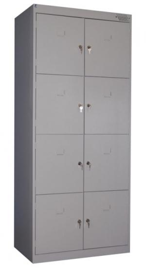 Шкаф металлический для сумок ШРК-28-800 купить на выгодных условиях в Калуге