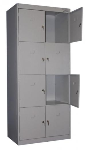 Шкаф металлический для сумок ШРК-28-600 купить на выгодных условиях в Калуге
