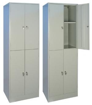 Шкаф металлический для хранения документов ШРМ - 24.0 купить на выгодных условиях в Калуге