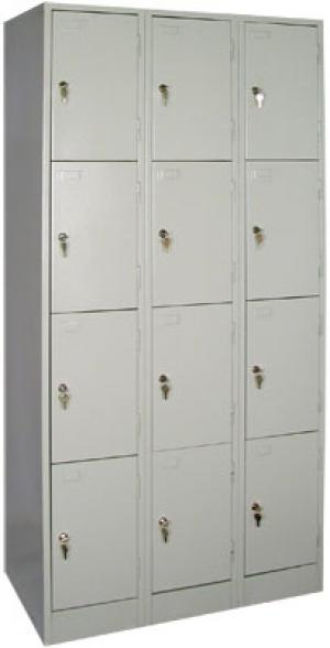 Шкаф металлический для сумок ШРМ - 312 купить на выгодных условиях в Калуге